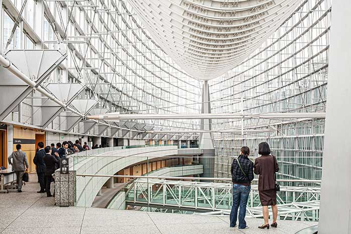 """TOKYO - New York regroupe les start-up dans sa Silicon Alley, Paris dans le quartier du Sentier et Londres autour de sa Tech City baptisée """"Silicon Roundabout"""". À Tokyo, c'est du côté de Marunouchi que les fintech se concentrent, tandis que la high-tech s'oriente vers Hongo, à proximité de l'université de Tokyo.© Ludovic Maisant"""