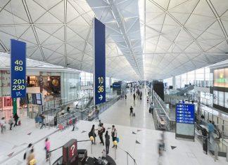 Hong Kong airport DR