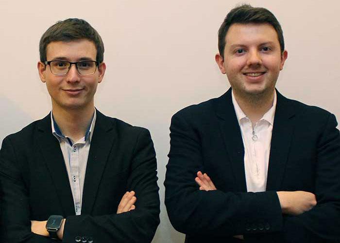 Sylvain Forte (G) et Pierre Rinaldi (D)