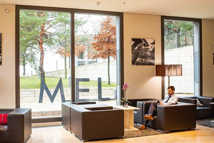Le Melia Kirchberg, un point de chute idéal en plein cœur du quartier d'affaires.