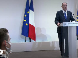 Contrôles renforcés aux frontières et couvre-feu à 18h en France