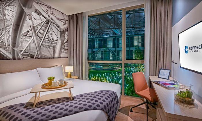 L'offre de l'hôtel Connect@Changi devrait rapidement atteindre 660 chambres et 170 salles de réunion, lui permettant d'accueillir jusqu'à 1 300 voyageurs d'affaires à la fois