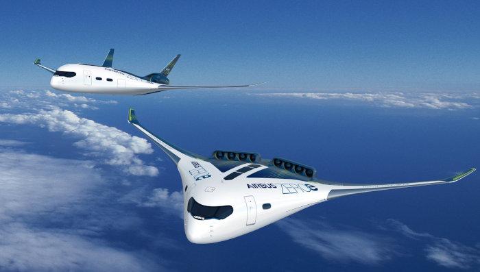 AirbusZeroE-blendedwing-hydrogene