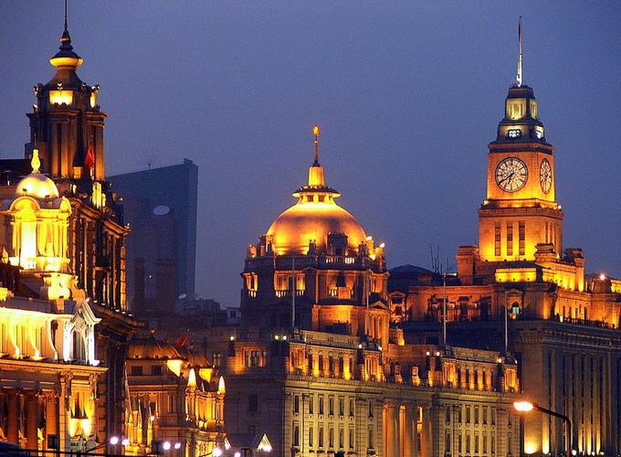 Chine-Shanghia-Bund