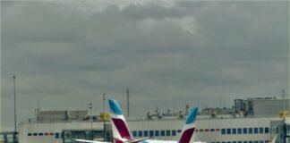 Aéroport-Dusseldorf-Europe