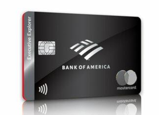 La nouvelle carte Executive Explorer de Bank of America.