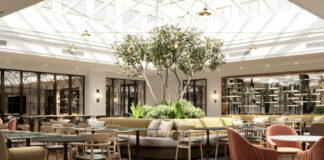 Restaurant du futur Hilton Heidelberg. (c) Studio Lux Berlin