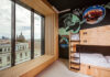 Une des 44 chambres Togethers du Jo&Joe Vienne (c) Philipp Lipiarski.