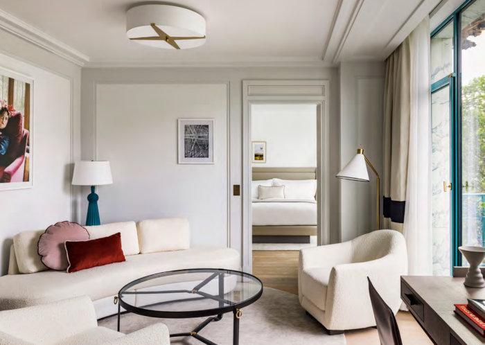 Une des suites du Kimpton St-Honore Paris.