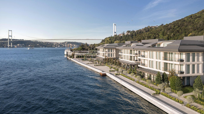 Le Mandarin Oriental Bosphorus Istanbul, sur la rive européenne de la métropole turque.