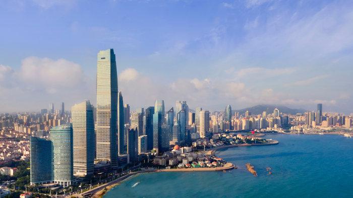 Le St Regis Qingdao, un des nouveaux hôtels du groupe Marriott en Chine.