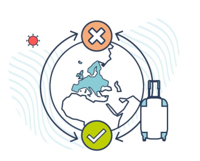 L'UE réimpose des restrictions aux voyageurs américains.