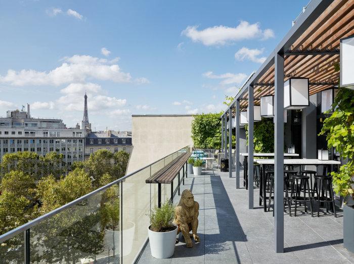 Le CitizenM Paris Champs-Elysees a ouvert ses portes début septembre.