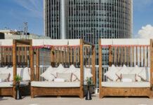 Terrasse du Canopy by Hilton Madrid Castellana.