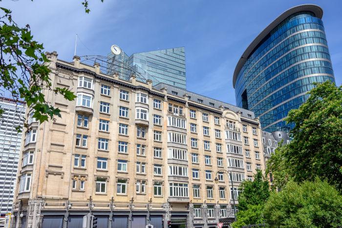 Le DoubleTree by Hilton Bruxelles.