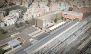 Futur InterCity Rome Gare Tiburtina