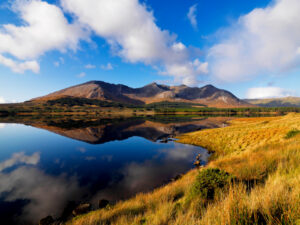 Le Lough Inagh, dans le Connemara.
