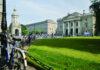 Trinity College, à Dublin.
