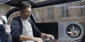 Le Pod Pullman Power Fitness, une des nouvelles solutions de mobilité urbaine envisagées par Accor en partenariat avec Citroën.