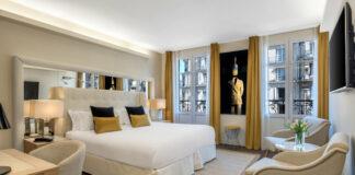Un des juniors suites de l'Hotel Camille Paris Gare de Lyon (Tapestry Collection by Hilton).