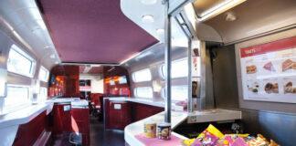 Welcome bar rouvert et repas gourmands de retour au sein des trains Thalys.
