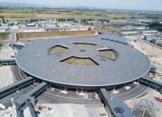 Lyon-Saint Exupéry sera l'aéroport pilote de la collaboration entre Airbus, Air Liquide et Vinci Airports pour le déploiement des infrastructures nécessaires aux avions à hydrogène. (c) Vinci Airports