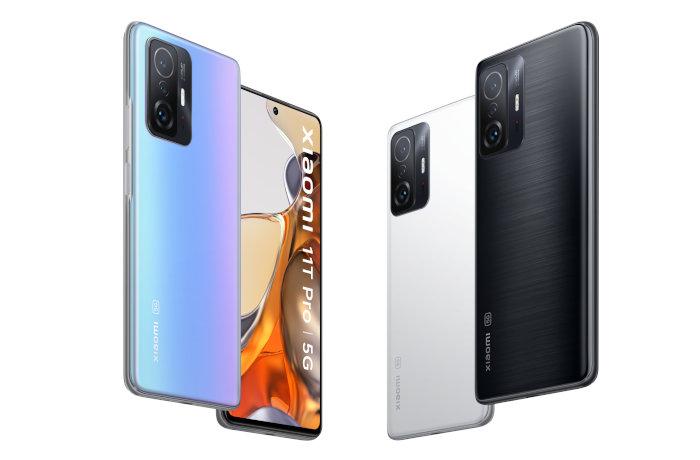 La gamme Xiaomi 11T Pro 5G