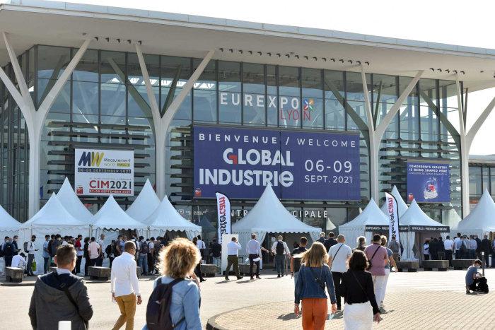 Le salon Global Industrie s'est tenu du 6 au 9 septembre à Eurexpo Lyon, un des sites de GL events. (c) Nicolas Rodet