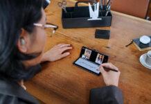 Samsung a présenté la troisième génération de ces smartphones pliants Fold Z3.
